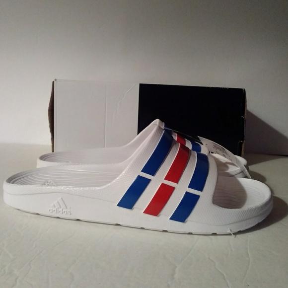 510d31e4c Adidas Duramo Slides U43664 Men Size 12